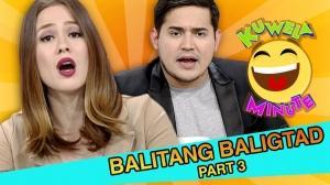Kuwela Minute: New edition ng Balitang Baliktad