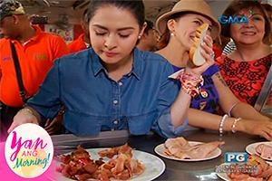 Yan ang Morning!: Food trip and shopping sa Quaipo with the kambals