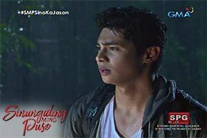 Sinungaling Mong Puso: The guy in the rain
