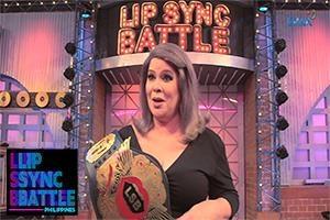 Jaclyn Jose's Winner Moment   Lip Sync Battle Philippines
