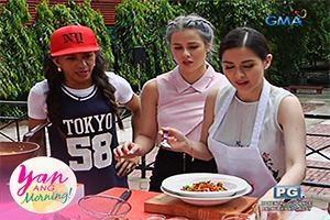 Yan Ang Morning!: Cheesy Kamote Fries Adobo