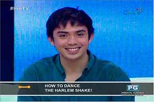 Hot TV: Sef Cadayona, ipinakita kung papaano mag Harlem Shake!
