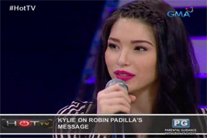 HOT TV: Kylie Padilla, inspired dahil sa paghanga sa kanya ng amang si Robin