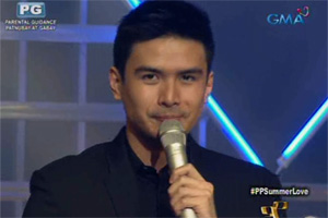Party Pilipinas: Christian Bautista on the Party Pilipinas stage