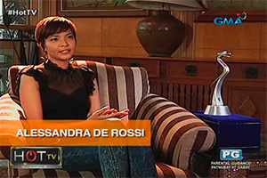 HOT TV: Alessandra de Rossi talks about her AIFFA win
