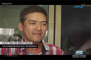 H.O.T. TV: Bossing Vic Sotto celebrates his birthday with the Dabarkads