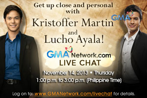 Live Chat: Kristoffer Martin and Lucho Ayala - November 14, 2013