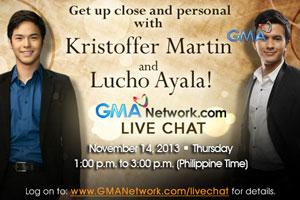 Live Chat: Kristoffer Martin and Lucho Ayala - November 14, 2013