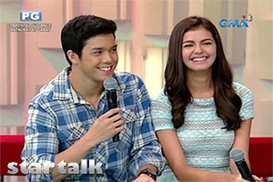 Janine and Elmo, sweeter than ever