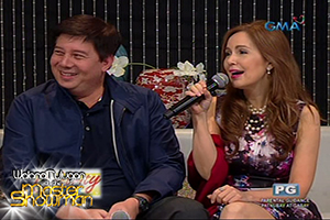 The romance between Tacloban Mayor Alfred Romualdez and actress Cristina Gonzales