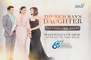The Rich Man's Daughter: Last two weeks