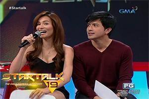 Startalk: Oo o hindi with Dennis Trillo and Jennylyn Mercado