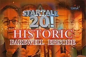Startalk: 20 questions, 20 fearless answers