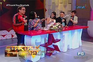 Hosts ng 'Startalk,' emosyonal na nagpaalam