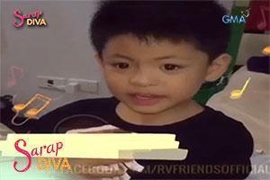 Sarap Diva: Nate Alcasid promotes concert of mom Regine Velasquez