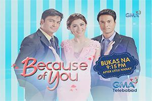 Because of You: Bukas na!