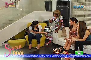 Sarap Diva: Regine Velasquez does a throwback with Carmi Martin and Ina Raymundo