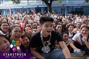 'StarStruck' homecoming: Elyson de Dios, pinagkaguluhan sa Cebu