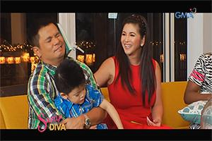 Sarap Diva: Regine Velasquez-Alcasid and family