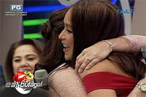Eat Bulaga: Pia Guanio wishes Pauleen happiness