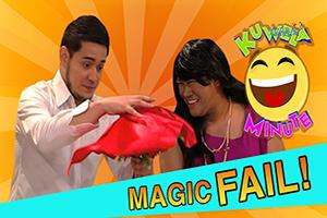 Kuwela Minute: Magic trick o misis trick?