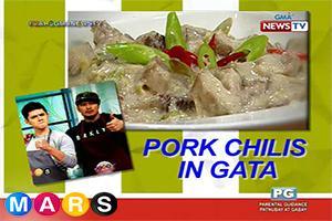 Mars Masarap: Pork Chilis in Gata