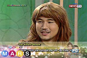 Mars: Steven Silva, takot sa babaeng may PMS