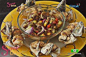 Sarap Diva: Transforming galunggong into a special dish