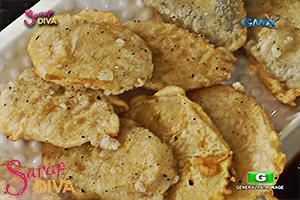 Sarap Diva: Vegetable tempura by Ate Liza
