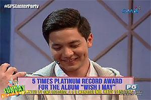 Sunday PinaSaya: Alden Richards's 'Wish I May' album, 5 times platinum na!