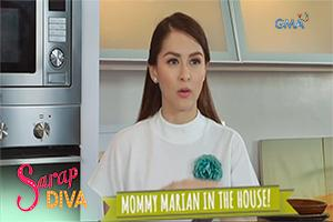 Sarap Diva: Mommy Marian in the house!