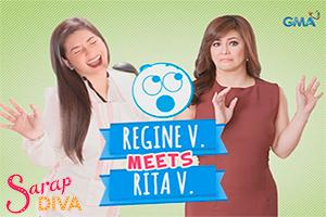 Sarap Diva: Regine Velasquez meets Rita Villon