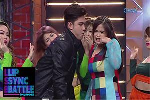 Derrick Monasterio and Bea Binene perform Joey De Leon's 'Itaktak Mo'   Lip Sync Battle Philippines
