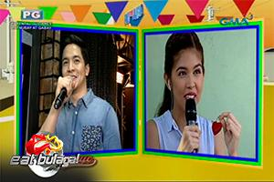 Eat Bulaga: Alden Richards, niregaluhan ng love lock si Yaya Dub