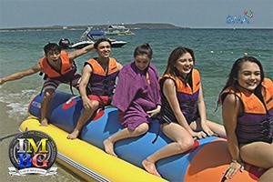 'Bubble Gang' Behind-the-Scenes: Banana boat ride