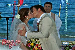 Because of You: The wedding finale