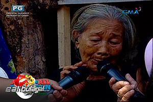 Eat Bulaga: Sugod bahay winner, 82 anyos na pero namamasura para suportahan ang pamilya