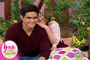Yan Ang Morning!: Fast talk with Juancho Trivino and Louise delos Reyes