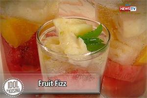 Idol sa Kusina recipe: Fruit Fizz