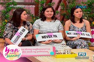 Yan Ang Morning!: Bukingan time with the Robredo girls
