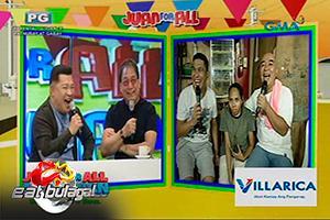 Eat Bulaga: Henyo Master Joey de Leon nakakain ng tuwalya?
