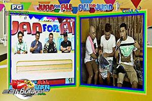 Eat Bulaga: Tricycle driver, naglalako ng underwear bilang sideline