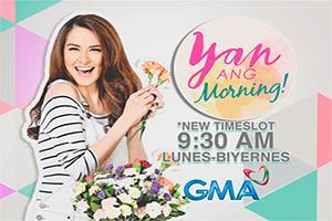 Yan Ang Morning!: Tuwing umaga, 9:30 na
