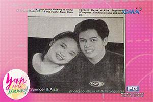 Yan Ang Morning!: Aiza Seguerra, kinilabutan kay Spencer Reyes!