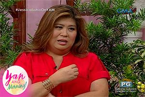 Yan Ang Morning!: Caption this with Ms. Jessica Soho