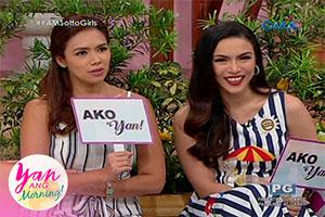 Yan Ang Morning!: Bonding to the max with the Sotto girls!