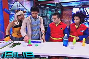iBilib: Glow-in-the-dark bubbles