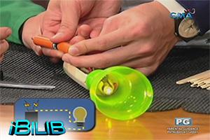 iBilib: Turning plastic bottle into flashlight