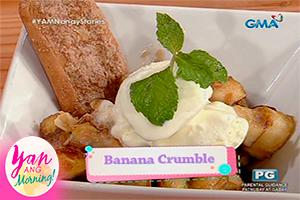 Yan Ang Morning!: Banana crumble