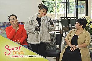 Sarap Diva: Manilyn Reynes, Jaclyn Jose at Tetay, bibisita!